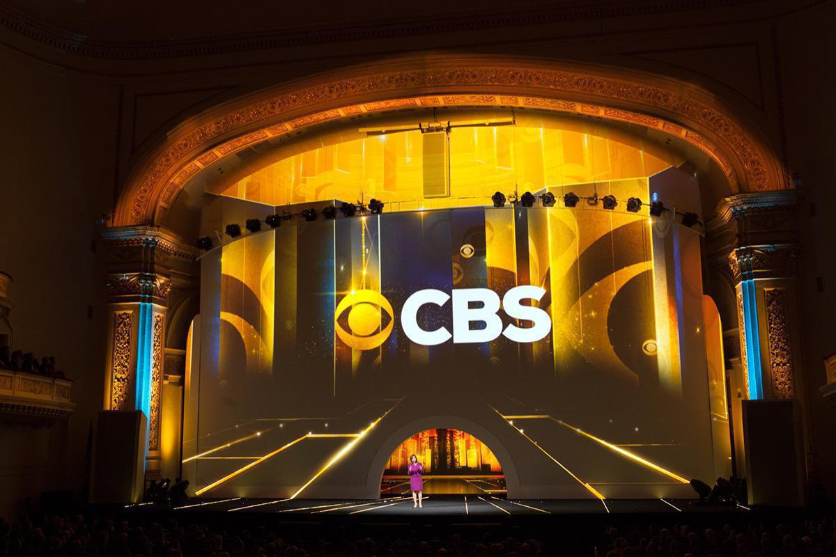 Photo 10 in '2015 CBS Upfront' gallery showcasing lighting design by Mike Baldassari of Mike-O-Matic Industries LLC