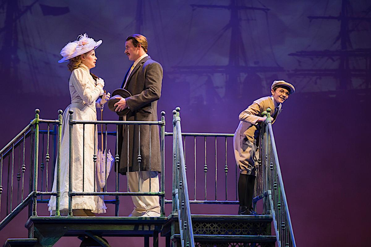 Photo 6 in 'Ragtime - U.S. National Tour' gallery showcasing lighting design by Mike Baldassari of Mike-O-Matic Industries LLC