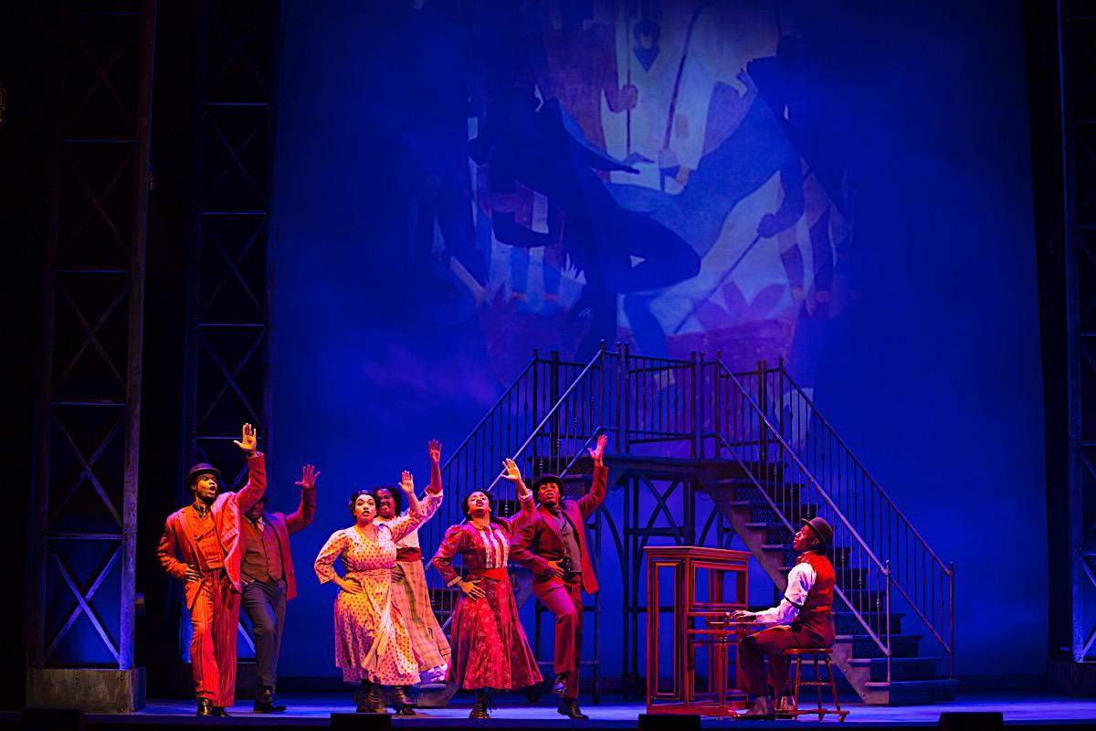 Photo 9 in 'Ragtime - U.S. National Tour' gallery showcasing lighting design by Mike Baldassari of Mike-O-Matic Industries LLC