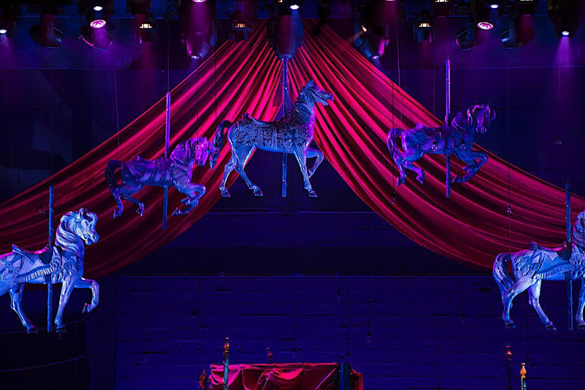 Photo 8 in 'Rodgers & Hammerstein's Carousel' gallery showcasing lighting design by Mike Baldassari of Mike-O-Matic Industries LLC