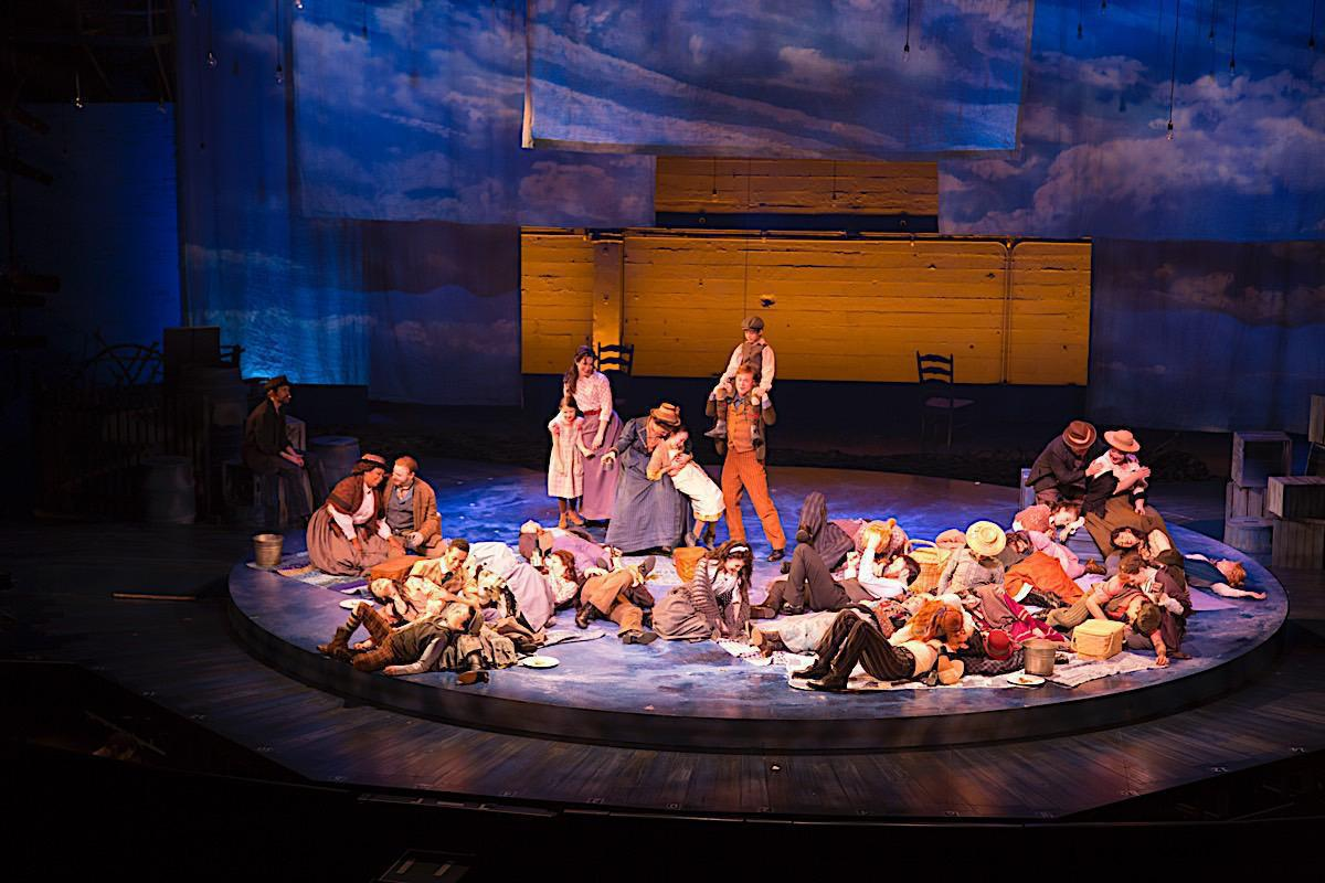 Photo 10 in 'Rodgers & Hammerstein's Carousel' gallery showcasing lighting design by Mike Baldassari of Mike-O-Matic Industries LLC
