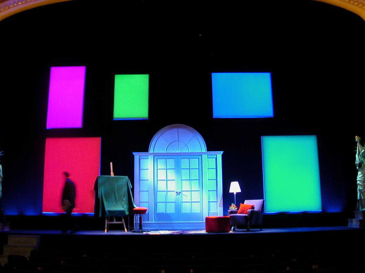 Photo 3 in 'Yakov Smirnoff: As Long As We Both Shall Laugh!' gallery showcasing lighting design by Mike Baldassari of Mike-O-Matic Industries LLC