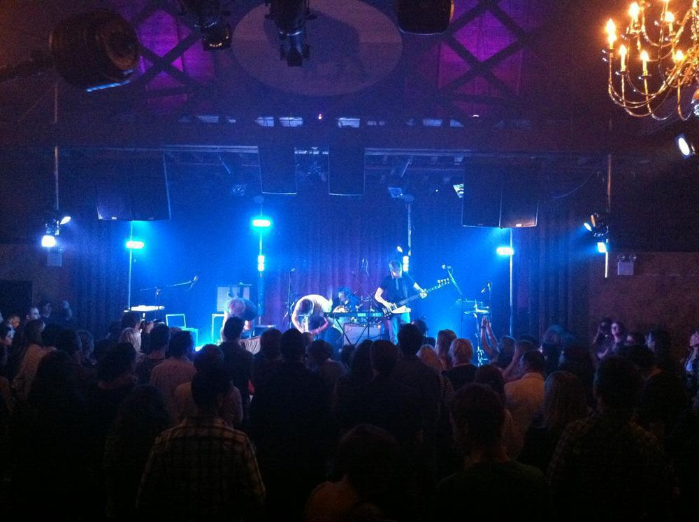 Photo 2 in 'The Boxer Rebellion - Debut U.S. Tour' gallery showcasing lighting design by Mike Baldassari of Mike-O-Matic Industries LLC
