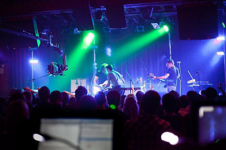 Photo 6 in 'The Boxer Rebellion - Debut U.S. Tour' gallery showcasing lighting design by Mike Baldassari of Mike-O-Matic Industries LLC