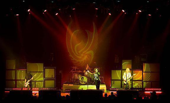 Photo 10 in 'Alice In Chains - Summer And Fall Tour - 2007' gallery showcasing lighting design by Mike Baldassari of Mike-O-Matic Industries LLC