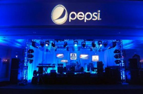 Photo 3 in 'PEPSI - 5th Quarter in the French Quarter' gallery showcasing lighting design by Mike Baldassari of Mike-O-Matic Industries LLC