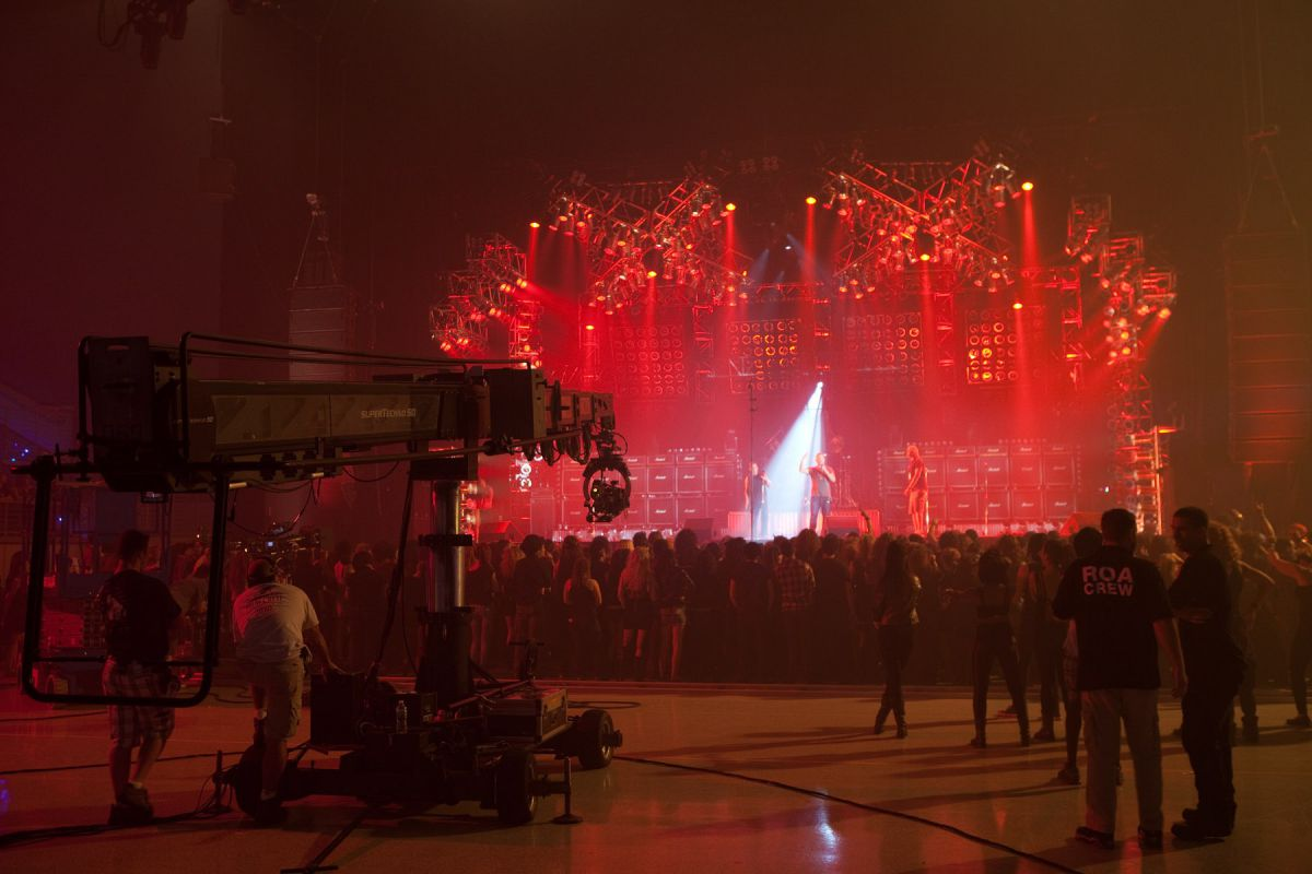 Photo 11 in 'Rock Of Ages' gallery showcasing lighting design by Mike Baldassari of Mike-O-Matic Industries LLC