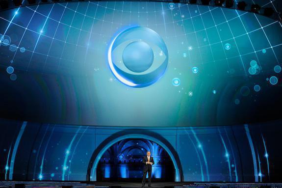Photo 6 in '2012 CBS Upfront' gallery showcasing lighting design by Mike Baldassari of Mike-O-Matic Industries LLC