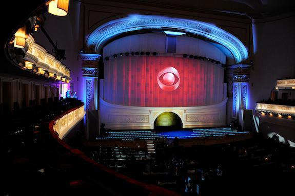 Photo 14 in '2012 CBS Upfront' gallery showcasing lighting design by Mike Baldassari of Mike-O-Matic Industries LLC
